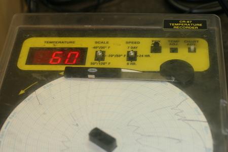 CR-87 Temperature Recorder
